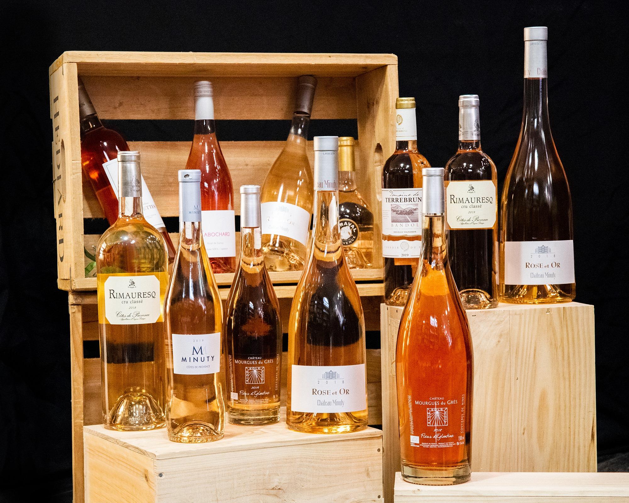 coffret vins rosés