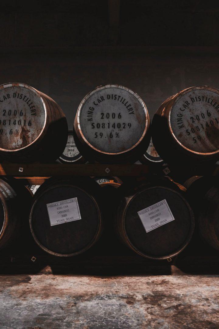 barils whisky
