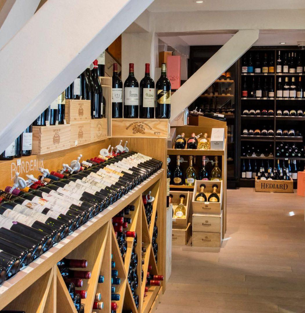 cave vins rouges