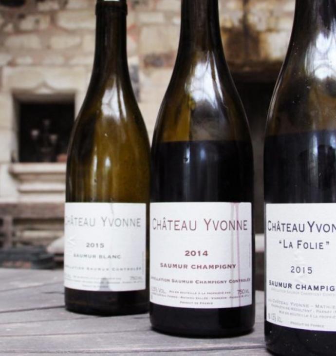 vins loire chateau yvonne