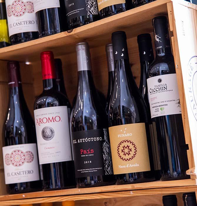vins etrangers