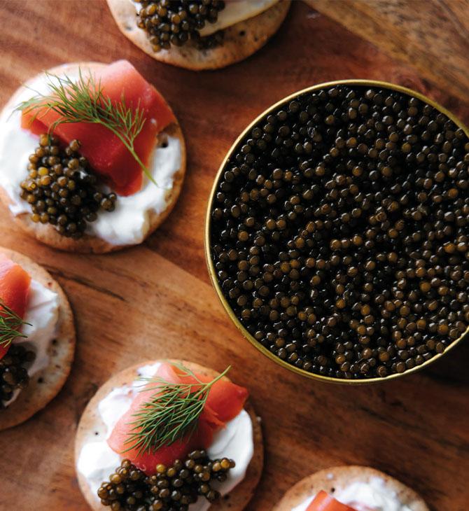 caviar prepare