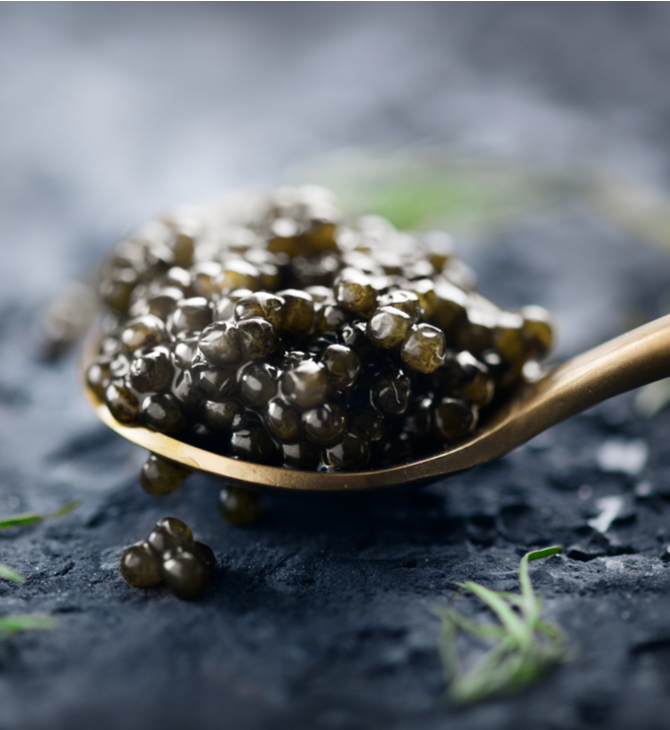 presentation caviar